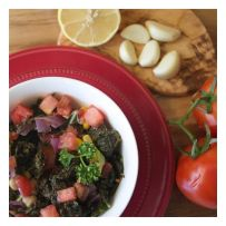 - Kale Salad -