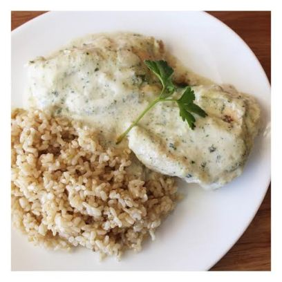 - Baked Chicken & Brown Rice -