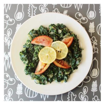 - Vegan Spinach & Pita -