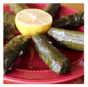 - Vegetarian Grape Leaves -
