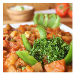 - Vegan Eggplant Mousakaat -